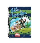 Slika za produkt Blok s spiralo A4 karo 5mm Talking Tom and Friends Let's have fun                                   .