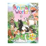 Slika za produkt Pobarvanka Create Animal World, 10471                                                               .