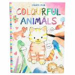 Slika za produkt Pobarvanka Create your Colourful Animals, 8916                                                      .