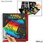 Slika za produkt Pobarvanka - praskanka Dino World Magic  Scratch, 10833                                             .